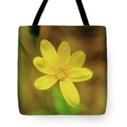 A Soft Yellow Flower  Tote Bag