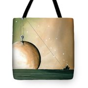 A Solar System Tote Bag by Cindy Thornton