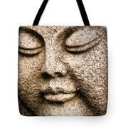 A Solid Face Tote Bag