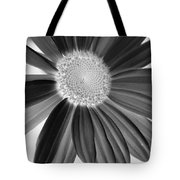 A Solo Daisy In Negative Tote Bag