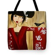 A Song For Suki Tote Bag