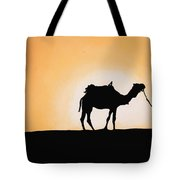 A Spasso Col Cammello Tote Bag by Guido Borelli