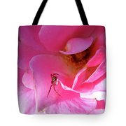 A Spider And A Rose Tote Bag