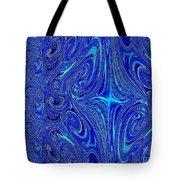 A Spiritual Retereat In Blue Tote Bag