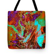 A Splash Of Color In The Weeds Tote Bag