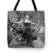 A Splash Of Monochrome Tote Bag
