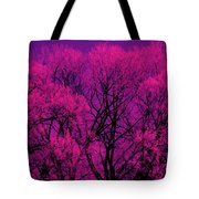 A Splash Of Purple Tote Bag