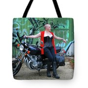 A Splash Of Red Tote Bag
