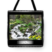 A Splendid Day On Logging Creek Tote Bag