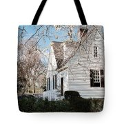 A Spring Day In Colonial Williamsburg Tote Bag