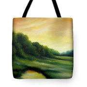A Spring Evening Part Two Tote Bag by James Christopher Hill