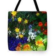 A Spring Garden Medley Tote Bag
