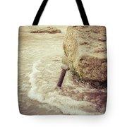A Stake In The Beach Tote Bag