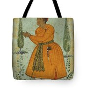 A Standing Portrait Of A Courtier Tote Bag