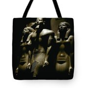 A Statue Of Pharoh Menkaura Tote Bag