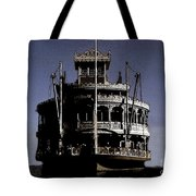A Steamboat Coming Tote Bag
