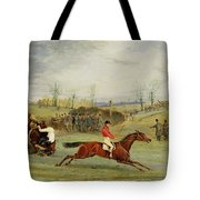 A Steeplechase - Another Hedge Tote Bag