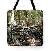 A Stone Structure In The Berkshire Hills Tote Bag