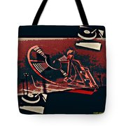 A Storm Of Turntables Tote Bag