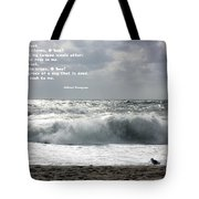 A Stormy Morning Tote Bag