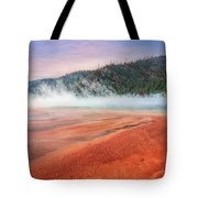 A Strange Place Tote Bag