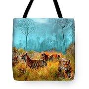 A Streak Of Tigers Tote Bag