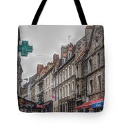 A Street In Boulogne Tote Bag