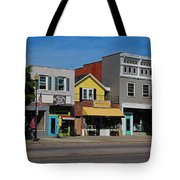 A Street In Perrysburg I Tote Bag