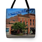 A Street In Perrysburg IIi Tote Bag