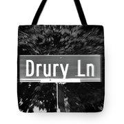 Dr - A Street Sign Named Drury Tote Bag