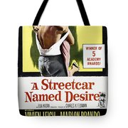 A Streetcar Named Desire Portrait Poster Tote Bag
