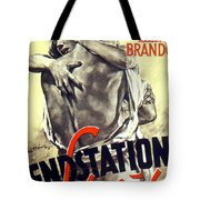 A Streetcar Named Desire Stylish European Portrait Poster Tote Bag
