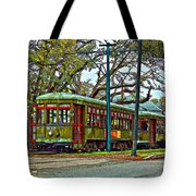 A Streetcar Named St. Charles Tote Bag
