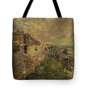 A Stroll Along The Seafront Tote Bag