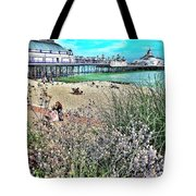 A Stroll At The Seaside  Tote Bag