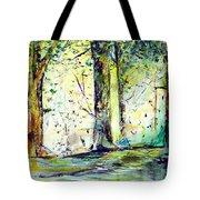 A Stroll On East 93rd Tote Bag