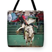 A Strong Bull Ride Tote Bag