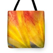 A Study In Red And Yellow Tote Bag