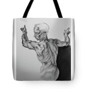 A Study Of Michelangelo Work Tote Bag