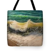 A Study Of Water Tote Bag