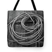 A Study Of Wire In Gray Tote Bag by Douglas Barnett