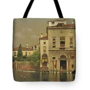 A Sultry Day In Venice Tote Bag