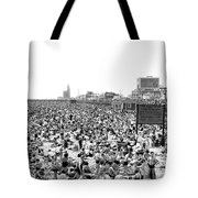 A Summer Day At Coney Island Tote Bag