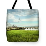 A Summer Evening In Charleston Tote Bag