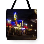 A Summer Night In Tarpon Springs Tote Bag