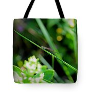 A Summer Of Dragonfly Kisses Tote Bag