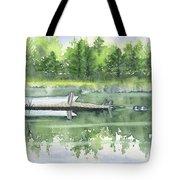 A Summer Pond Tote Bag