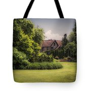 A Summer Sitting Place Tote Bag