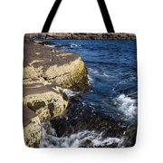 A Summer's Day At Nubble Light, York, Maine  -67969 Tote Bag