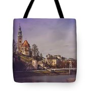 A Sunday Stroll In Salzburg Tote Bag